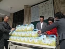 Gang-Shan Church Rice donation ceremony