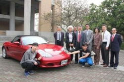 Ceremony of Porsche donation for NKFUST