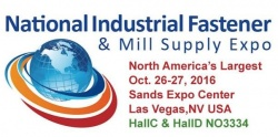 National Industrial Fastener & Mill Supply Expo 2016